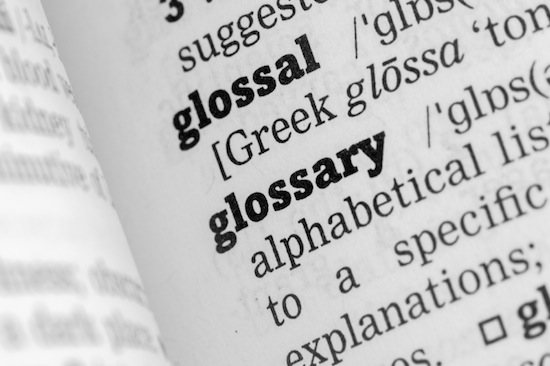 Glossary Cloud Industry